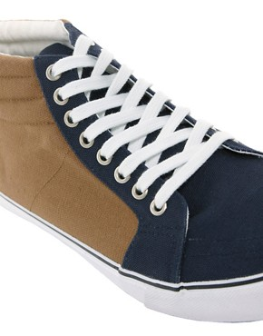 Image 2 ofASOS Trainers With Padded Cuff