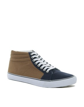Image 1 ofASOS Trainers With Padded Cuff