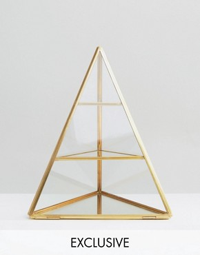 By Savvy Brass Jewellery Holder
