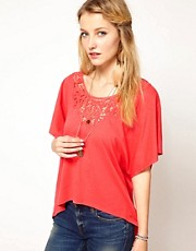 Denim & Supply By Ralph Lauren Lace Insert Top