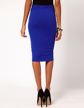 Image 2 ofASOS Pencil Skirt in Jersey