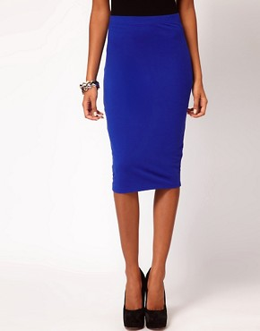 Image 4 ofASOS Pencil Skirt in Jersey