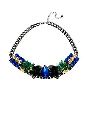 ASOS Warrior Gemstone Necklace