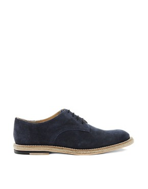 Image 4 ofASOS Leather Sole Derby Shoes With Jute Insert