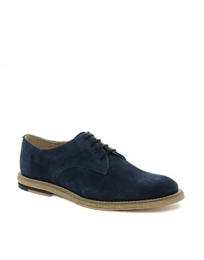 Image 1 ofASOS Leather Sole Derby Shoes With Jute Insert