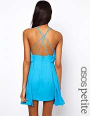 ASOS PETITE Exclusive Dress With Cross Front
