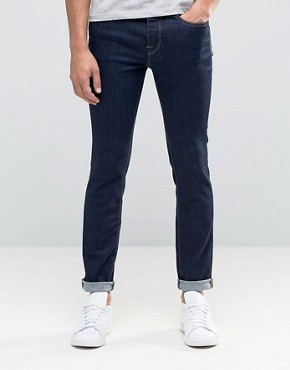 Selected Homme Indigo Skinny Jean in Super Stretch