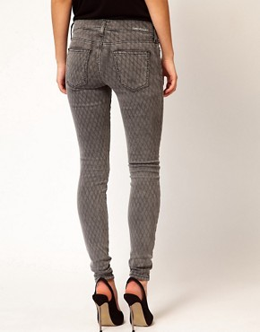 Image 2 ofCurrent/ Elliot Ankle Skinny In Fishnet Print