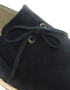 Image 2 ofASOS Leather Sole Jute Wrap Loafers