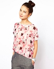 Pippa Lynn Printed Oversized T-Shirt