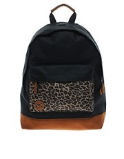 Mi Pac Leopard Pocket Backpack