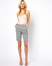 ASOS City Short in Floral Print