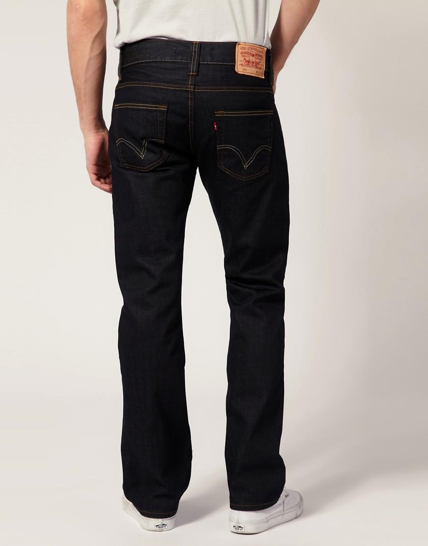 Image 2 ofLevis Jeans 506 Straight Rigid Black Wash