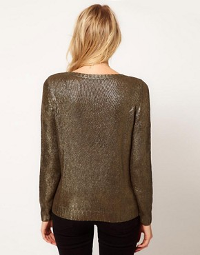 Image 2 ofOasis Foil Print Cable Jumper