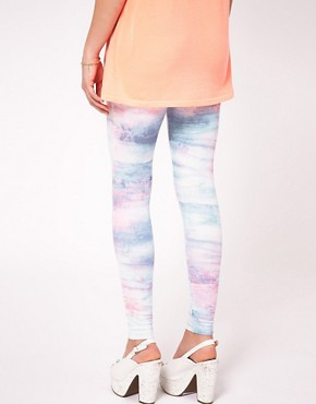 Image 2 ofRiver Island Tye Dye Legging