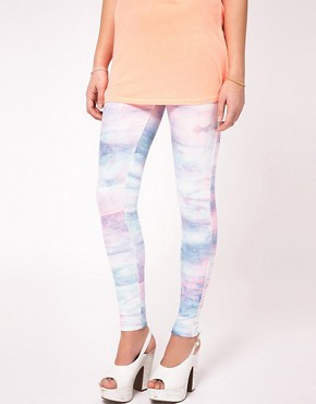 Image 4 ofRiver Island Tye Dye Legging