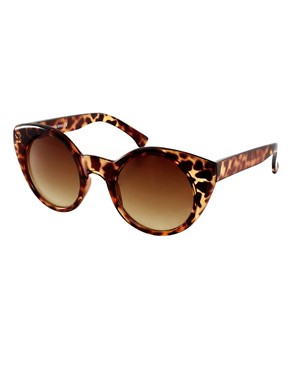 Image 1 of ASOS Kitten Cat Eye Sunglasses