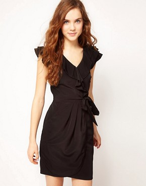 Image 1 ofA Wear Freda Wrap Dress