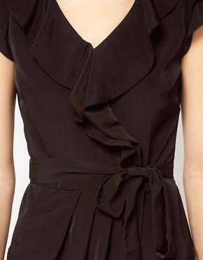 Image 3 ofA Wear Freda Wrap Dress