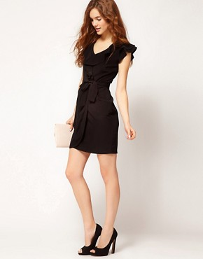 Image 4 ofA Wear Freda Wrap Dress
