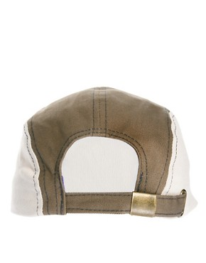 Image 2 ofASOS 5 Panel Cap with Contrast Peak