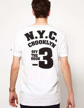 Image 2 ofSolid T-Shirt with NYC Print