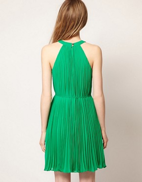 Image 2 of Ted Baker Pleat Dress With Belt