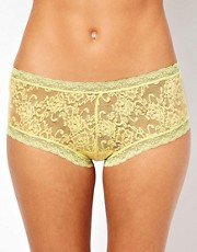 Kinky Knickers Straight Lace Hipster Knickers