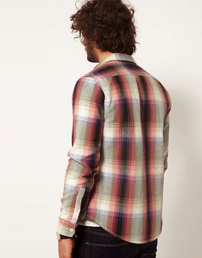 Image 2 ofASOS Blanket Check Overshirt