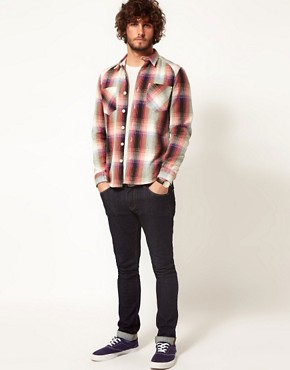 Image 4 ofASOS Blanket Check Overshirt