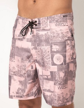 Image 1 ofWESC Butch Swim Shorts