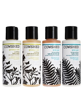 Image 1 ofCowshed Travel Bath &amp; Body Mini Set