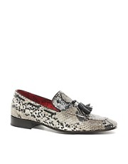 Jeffery West Snake Loafers