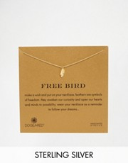 Dogeared Free Bird Feather Charm Necklace