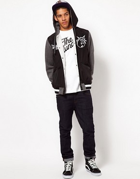 Image 4 ofThe Hundreds Unloaded Varsity Jacket
