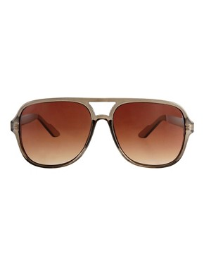 Image 2 ofASOS Square Plastic Aviators
