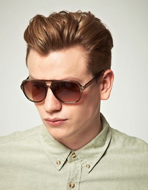 Image 3 ofASOS Square Plastic Aviators