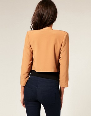 Image 2 ofASOS Tailored Draped Suit Jacket