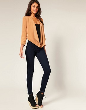 Image 4 ofASOS Tailored Draped Suit Jacket
