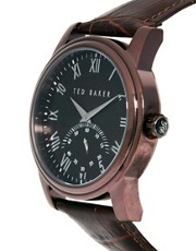 Ted Baker Leather Strap Watch TE1082