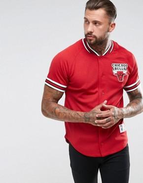 Mitchell & Ness NBA Chicago Bulls Mesh T-Shirt
