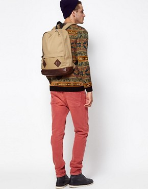 Image 3 ofASOS Canvas Backpack.
