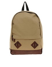 ASOS Canvas Backpack.