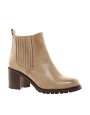 ASOS AUTUMN Leather Ankle Boots