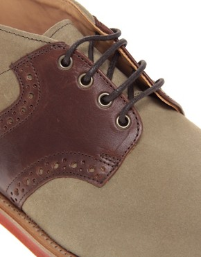 Image 2 ofMark McNairy New Amsterdam Nubuck Saddle Chukka Boots
