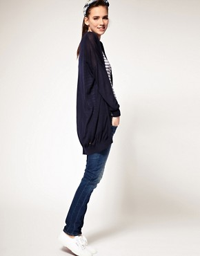 Image 4 ofG-Star Pocket Longline Cardigan