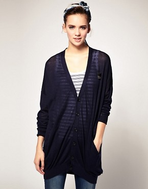 Image 1 ofG-Star Pocket Longline Cardigan