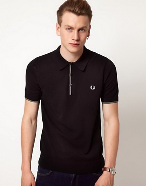 Image 1 of Fred Perry Polo Classic Tipped Shirt