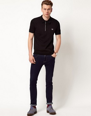 Image 4 of Fred Perry Polo Classic Tipped Shirt
