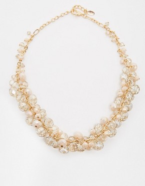 ALDO Purwen Beaded Multicolour Collar Necklace